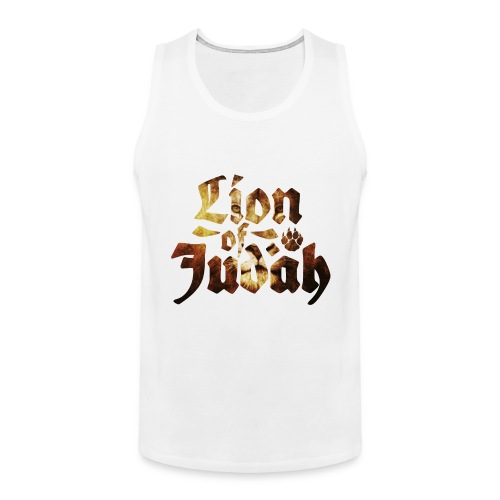 Lion of Judah - Rastafari Paw - Männer Premium Tank Top