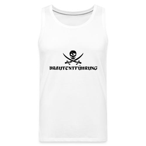Brautentführung Piratenflagge Junggesellinnen - Männer Premium Tank Top
