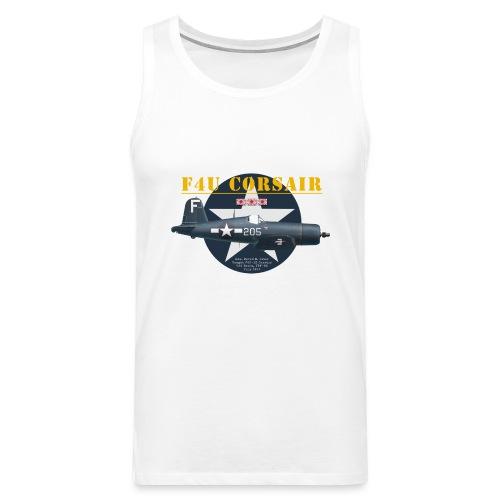 F4U Jeter VBF-83 - Débardeur Premium Homme
