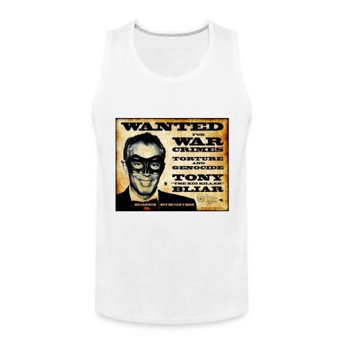 Wanted - Men's Premium Tank Top