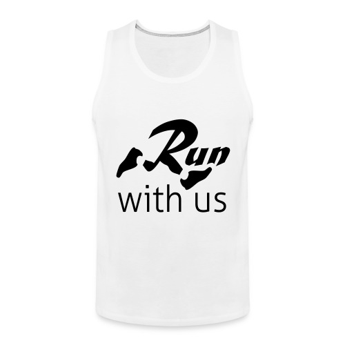 Run with us - Männer Premium Tank Top