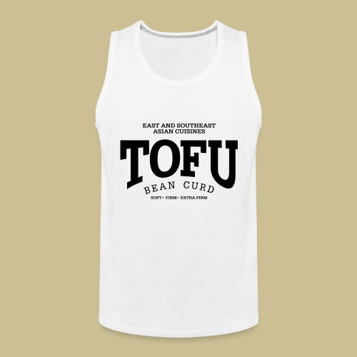 Tofu (black) - Männer Premium Tank Top