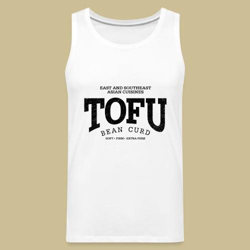 Tofu (black oldstyle) - Männer Premium Tank Top