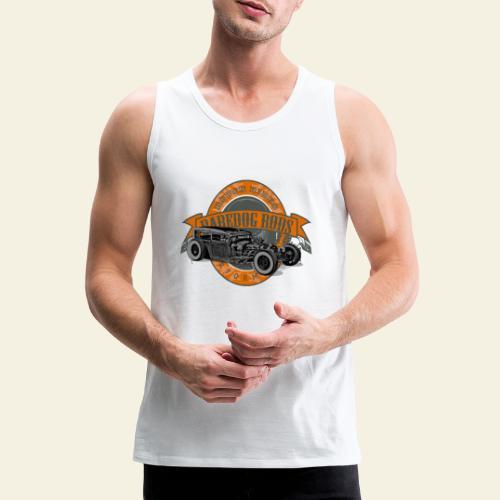 Raredog Rods Logo - Herre Premium tanktop