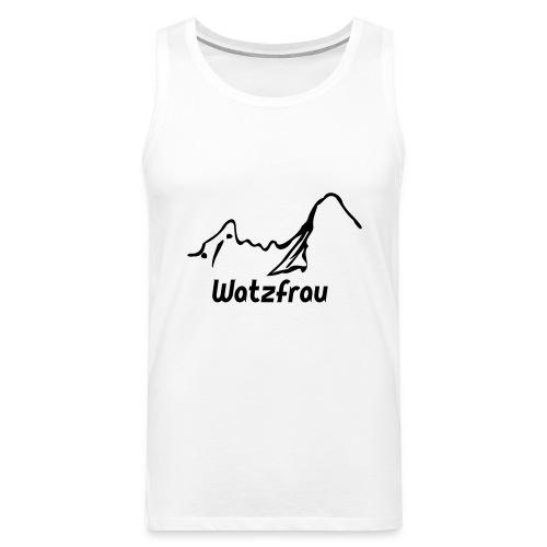 Watzfrau - Männer Premium Tank Top