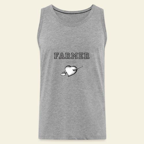 Hearth farmer - Canotta premium da uomo