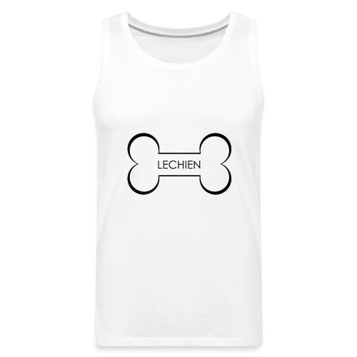 LeChien - Canotta premium da uomo