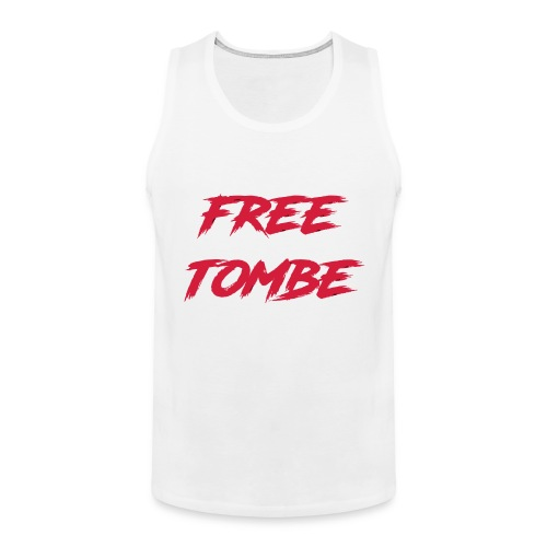 FREE TOMBE AI - Männer Premium Tank Top