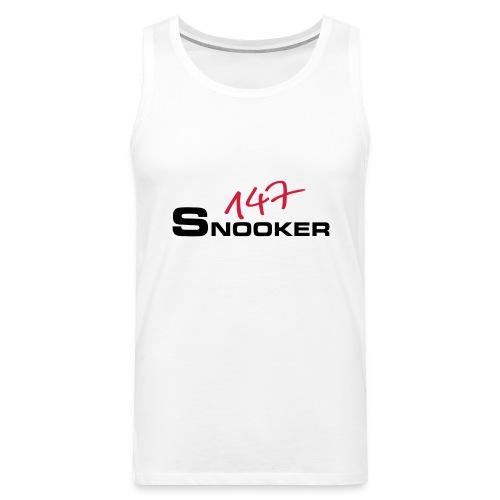 147_snooker - Männer Premium Tank Top
