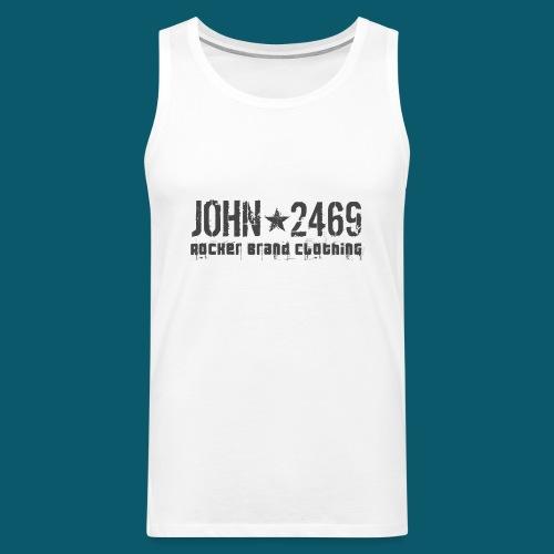 JOHN2469 prova per spread - Canotta premium da uomo