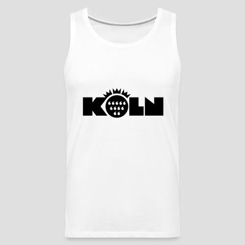 Köln Wappen modern - Männer Premium Tank Top
