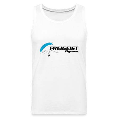 Freigeist-Flywear logo - Männer Premium Tank Top