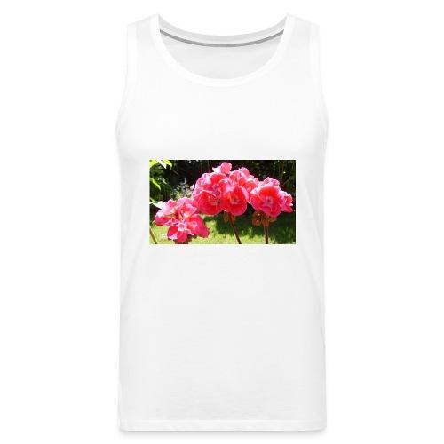 floral - Men's Premium Tank Top