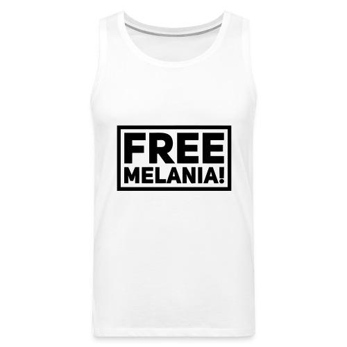free melania! - Männer Premium Tank Top