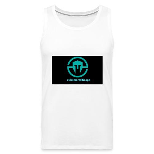 xxImmortalScope throwback - Men's Premium Tank Top
