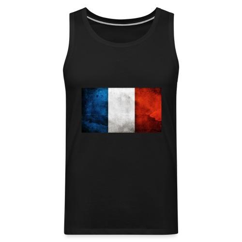 France Flag - Men's Premium Tank Top