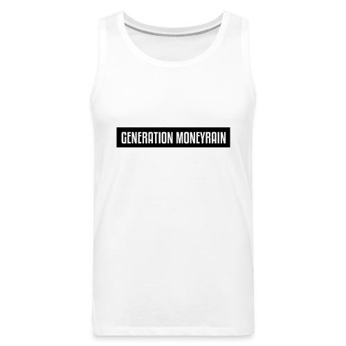 GENERATION MONEYRAIN - Männer Premium Tank Top