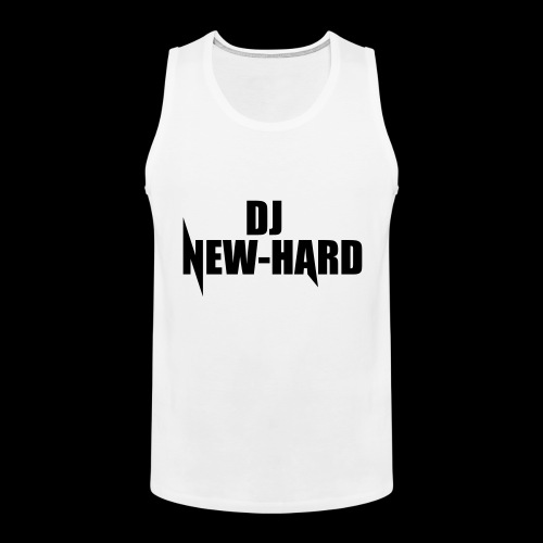 DJ NEW-HARD LOGO - Mannen Premium tank top