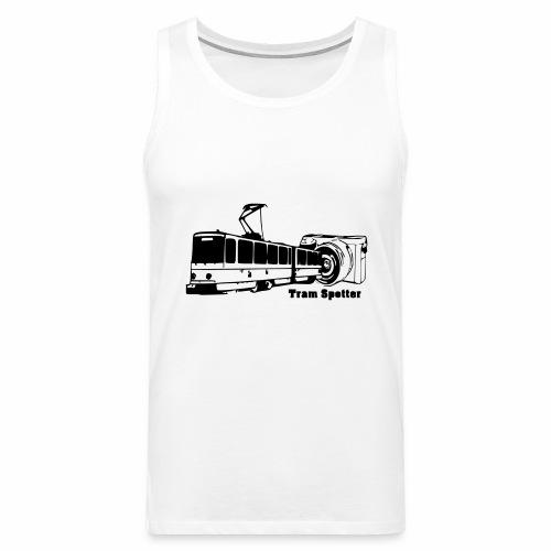 Tram-Spotter - Männer Premium Tank Top