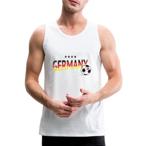 Fußball Weltmeister Fan Deutschland - Männer Premium Tank Top