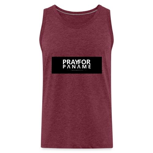 TEE-SHIRT HOMME - PRAY FOR PANAME - Débardeur Premium Homme