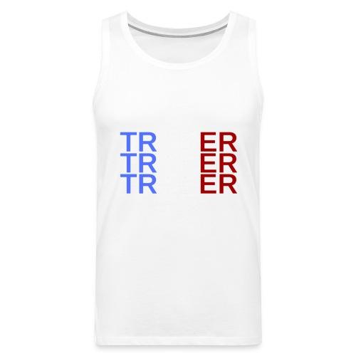 TRADER X3 - Débardeur Premium Homme