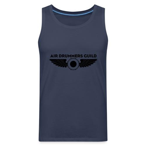 ADG Drum'n'Wings Emblem - Men's Premium Tank Top