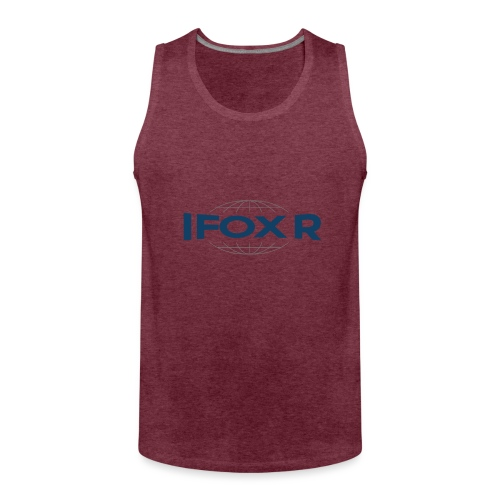 IFOX Logo - Premiumtanktopp herr