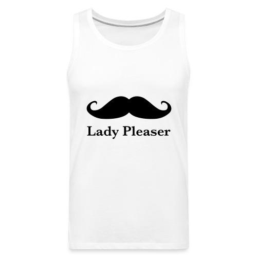 Lady Pleaser T-Shirt in Green - Men's Premium Tank Top