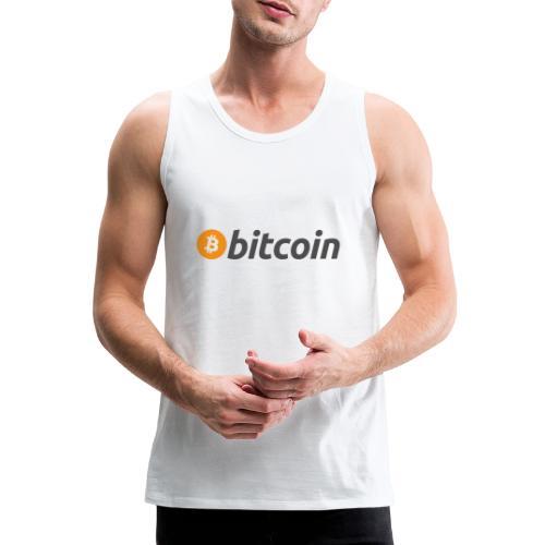 Bitcoin - Männer Premium Tank Top