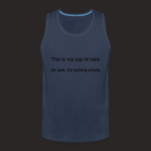 cup of care - Männer Premium Tank Top