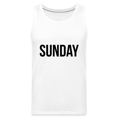 Sunday - Men's Premium Tank Top