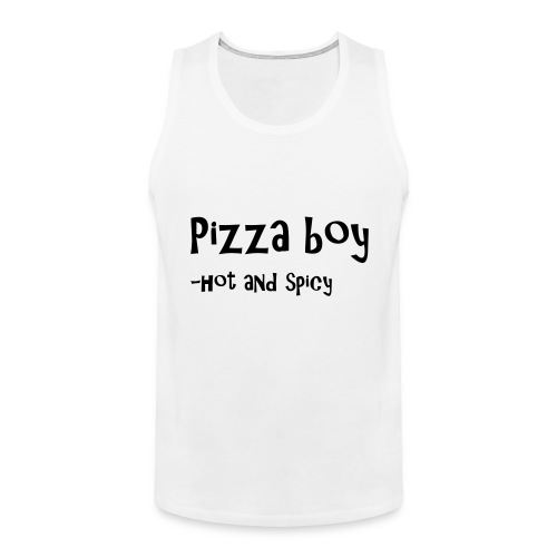 Pizza boy - Premium singlet for menn