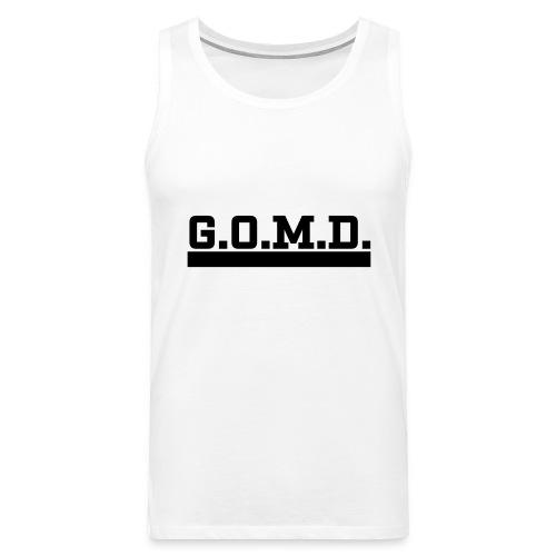 G.O.M.D. Shirt - Männer Premium Tank Top