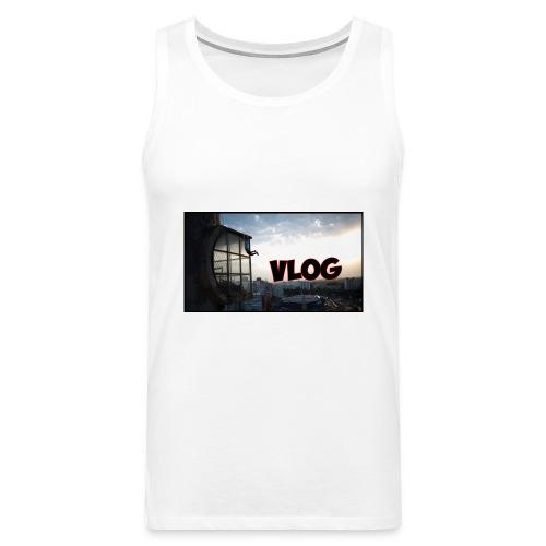Vlog - Men's Premium Tank Top