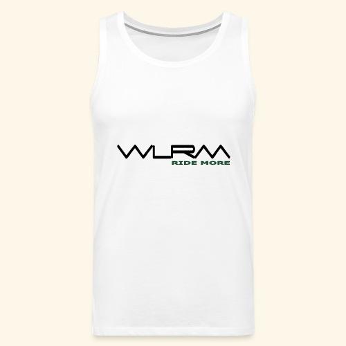 WLRM Schriftzug black png - Männer Premium Tank Top