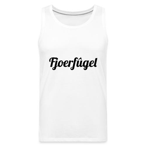 fjoerfugel - Mannen Premium tank top