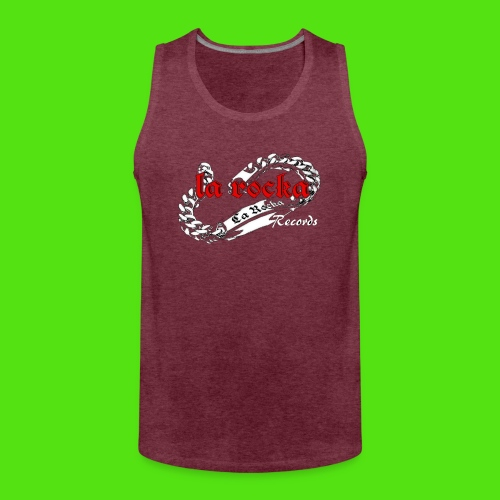 La Rocka black'n'red tsp - Men's Premium Tank Top
