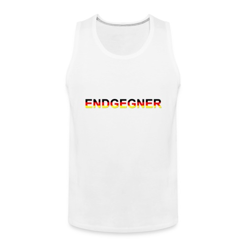 ENDGEGNER - Männer Premium Tank Top