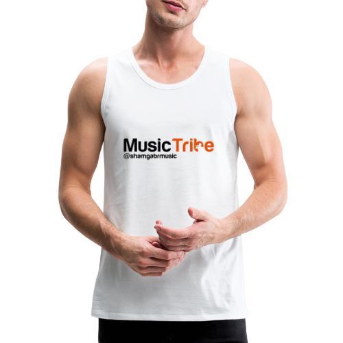 music tribe logo - Men's Premium Tank Top