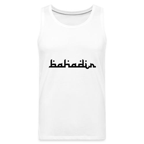 bahadir logo1 png - Männer Premium Tank Top