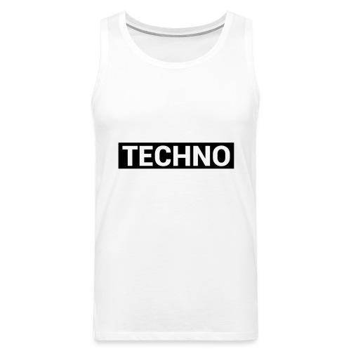 TECHNO - Männer Premium Tank Top