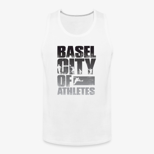 Basel City of Athletes B/W - Männer Premium Tank Top