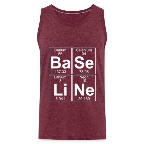Ba-Se-Li-Ne (baseline) - Full - Men's Premium Tank Top