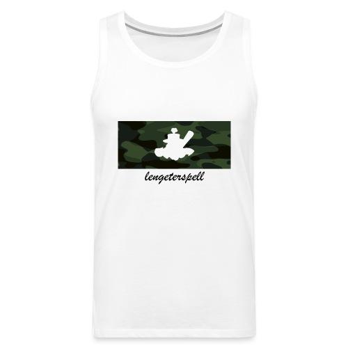 Camouflage - Männer Premium Tank Top