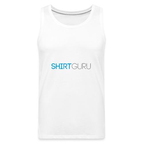SHIRTGURU - Männer Premium Tank Top