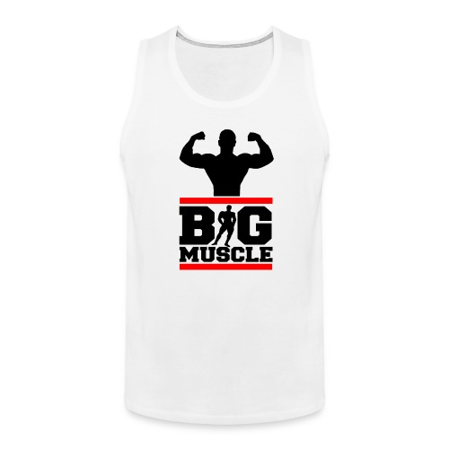 Body building big muscle - Canotta premium da uomo