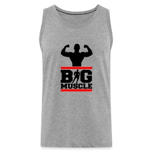 Body building big muscle - Canotta premium da uomo