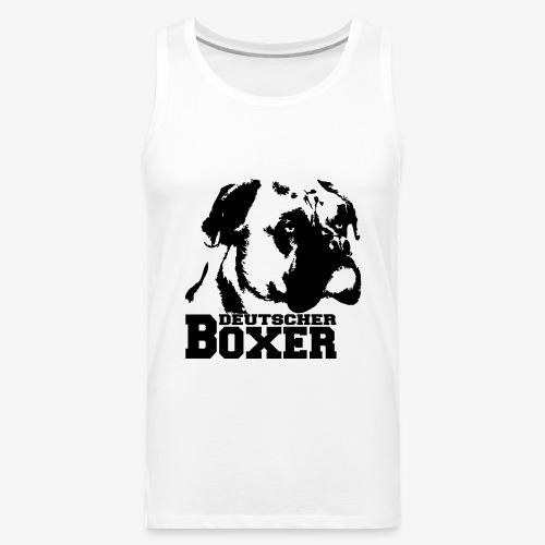 Deutscher Boxer - Männer Premium Tank Top