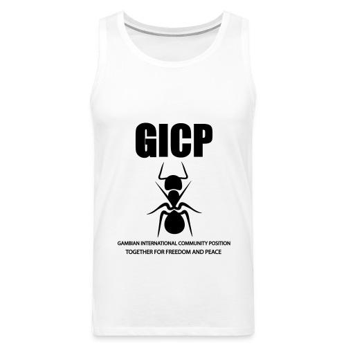 GICP T-SHIRT - Men's Premium Tank Top